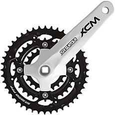 Комплект курбели -  XCM 414 PB - Велосипеден компонент -