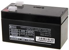 OT 1.3-12 12V / 1.3 Ah - Оловно-киселинна батерия с размери 97 / 45 / 53 mm -