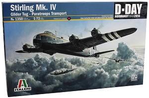 Планер влекач - Short Stirling Mk.IV - Сглобяем авиомодел -