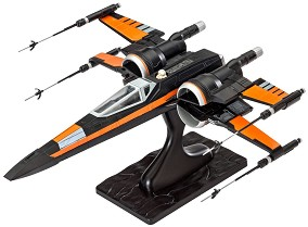 """������������ ���������� �� �� ������� - Poe's X-Wing Fighter - �������� ����� �� ������� """"Revell: Star Wars"""" -"""