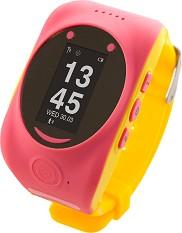 Детски GPS и GSM смарт часовник - MyKi Watch Pink - Работещ със SIM карти на всички български мобилни оператори -