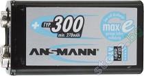 Батерия 8.4V E-Block - Акумулаторна NiMH (6F22) 300 mAh -