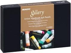 """Ръчно изработени сухи пастели - Artists' Handmade Soft Pastel - Комплект от 15, 30 или 60 цвята от серията """"Gallery"""" -"""