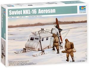 Съветска аерошейна - НКЛ-16 - Сглобяем модел -