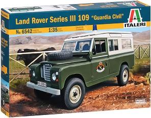 "Военен автомобил - Land Rover Series III 109 ""Guardia Civil"" - Сглобяем модел -"