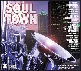 Soul Town: 75 Essential Hits - 3 CD Box -