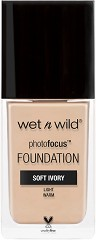 Wet'n'Wild Photo Focus Foundation - Фон дьо тен с фото финиш -