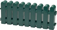 Ниска градинска ограда - Flora border - Комплект от 5 броя с дължина 50 cm -