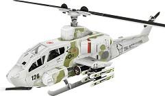 """Боен хеликоптер AH-1 Cobra - 3D пъзел от колекцията """"Бойни машини"""" -"""