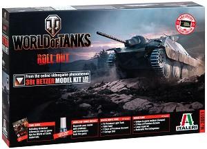"""Германски танк - 38T Hetzer - Сглобяем модел от серията """"World of Tanks: Roll Out"""" -"""