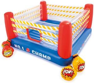 Надуваем детски боксов ринг - Комплект с 2 чифта надуваеми ръкавици -