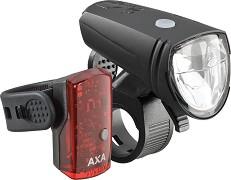 AXA Greenline 15 LUX - Комплект от предна и задна светлина -