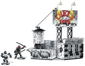 """Двубой на покрива - Детски конструктор от серията """"Костенурките Нинджа"""" -"""