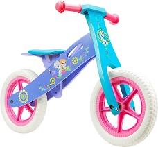 """Замръзналото кралство - Детски дървен велосипед без педали 12"""" -"""