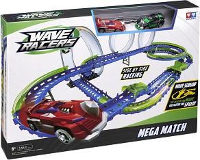 Wave Racers - Mega Match - Комплект писта и  2 състезателни коли със сензор за движение -