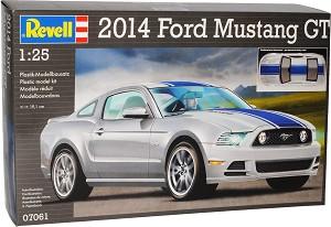 Автомобил - Ford Mustang GT 2014 - Сглобяем модел -