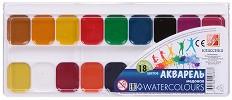 Акварелни бои с пчелен мед - Комплект от 18, 24 или 32 цвята -