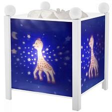 """Магическа декоративна лампа - Жирафчето Софи - Детски аксесоар от серията """"Magic Lantern"""" -"""