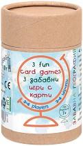 Забавна география - 3 в 1 - Детска образователна игра -