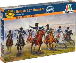 Британски хусари - Комплект от 24 фигури -