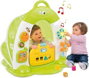 """Сгъваема интерактивна къща - Бебешка образователна играчка от серията """"Котунс"""" -"""