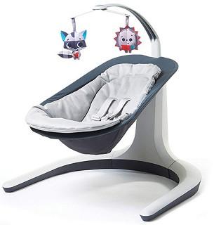 Бебешки шезлонг 2 в 1 - Nature's Way Bounce&Sway - С вибрация и мелодии -
