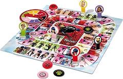 """Супер игра - Калинката и Черния котарак - Детска настолна игра от серията """"Мега-чудесата на Калинката и Черния котарак"""" -"""
