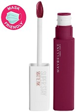Maybelline SuperStay Matte Ink City Edition Liquid Lipstick - Течно червило с матов ефект -