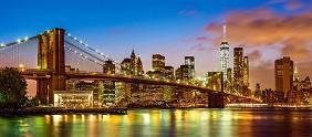 Бруклинският мост, Ню Йорк -