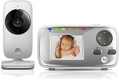 Дигитален видео бебефон - MBP482 - С температурен датчик и нощно виждане -