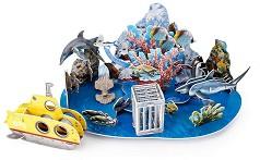 """Подводно приключение - 3D пъзел от колекцията """"National Geographic Kids"""" -"""