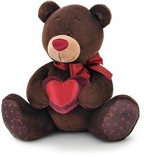 """Мечето Шоко - Сърце - Плюшена играчка от серията """"Choco and Milk"""" -"""