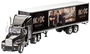 Камион с ремарке - AC/DC - Сглобяем модел -