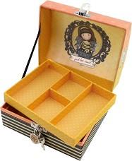 """Кутия за бижута - Bee-Loved - От серията """"Gorjuss"""" -"""