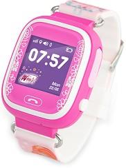 Детски GPS и GSM смарт часовник с тъч скрийн - AGU Winx - Работещ със SIM карти на всички български мобилни оператори -