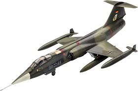 Самолет изтребител - Lockheed Martin F-104G - Сглобяем авиомодел -