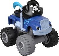 """Крашър пират - Пластмасова количка от серията """"Пламъчко и машините"""" -"""