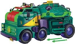 """Трансформиращ се камион - 2 в 1 - Комплект за игра от серията """"Възходът на костенурките нинджа"""" -"""