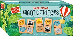 Гигантско домино - Safari Animal - Настолна игра -