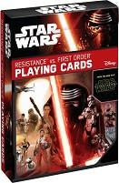 """Карти за игра - Resistance vs. First Order - От серията """"Star Wars"""" -"""