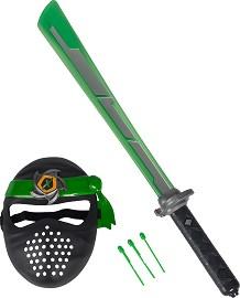 Маска и меч - Next Ninja - Детски комплект за игра със звуков и светлинен ефект -