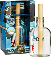 """Писмо в бутилка - 3D пъзел от серията """"Bottle"""" -"""