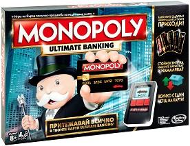 Монополи: Електронно банкиране - Семейна бизнес игра -