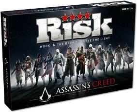 Риск: Assassin's Creed - Стратегическа настолна игра на английски език -