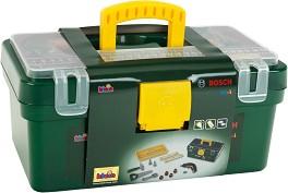 """Куфар с инструменти - Bosch - Комплект играчки от серията """"Bosch-mini"""" -"""