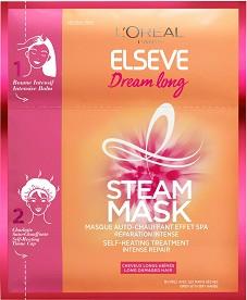 Elseve Dream Long Steam Mask - Възстановяваща самозатопляща се маска за дълга и увредена коса -