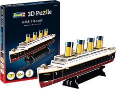 Титаник - 3D пъзел -