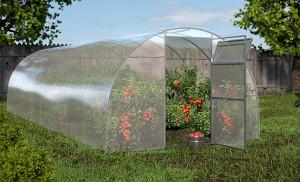 Оранжерия - Standart - С широчина 3 m и височина 2 m -