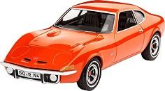 Автомобил - Opel GT - Сглобяем модел -