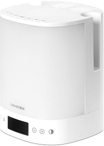 Настолен радиочасовник Lanaform - Wake-up Scents - С дифузер и светлинен симулатор на изгрев и залез -